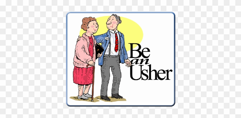 Church Ushers Clipart - Usher #115358