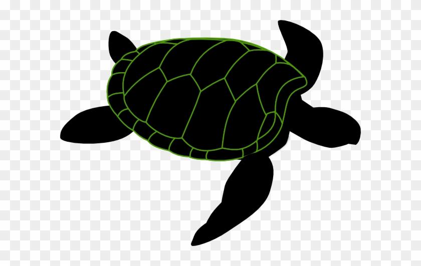 Turtle Dove Clipart Stencil - Sea Turtle Stencil Printable #115411