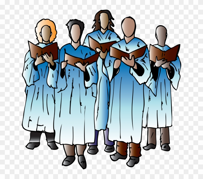 "Choir Group - "" - Group Singing Transparent Png #115482"