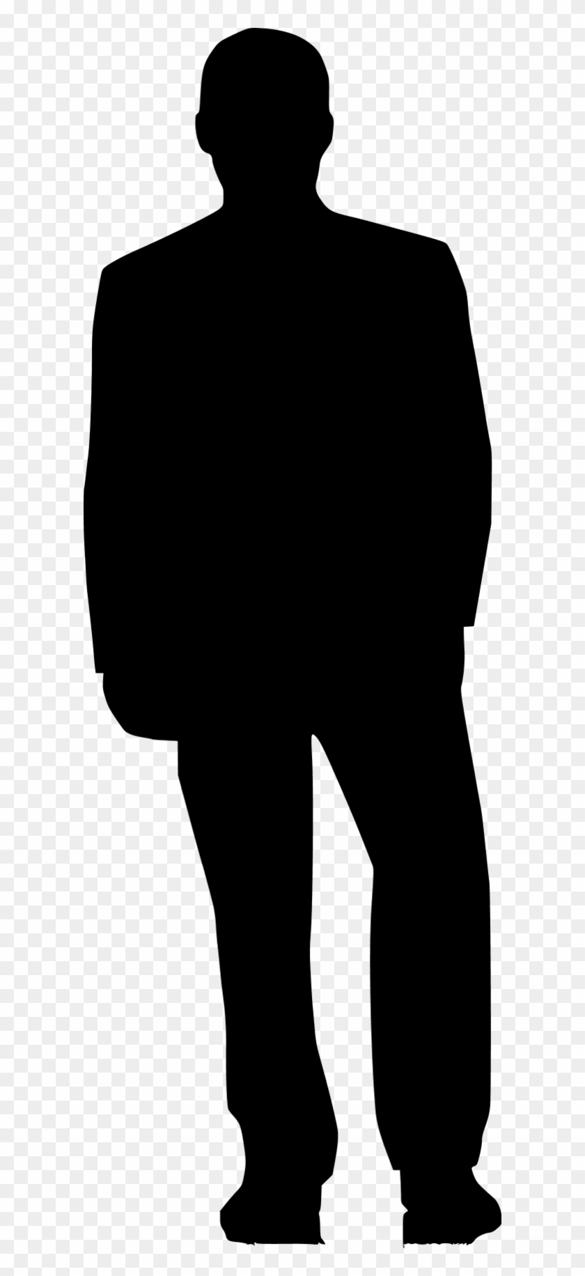 Person Back Silhouette Png #115513