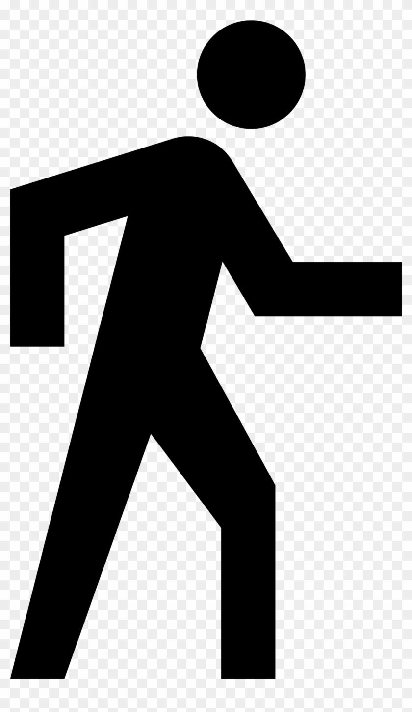Open - Google Maps Walking Icon #115519
