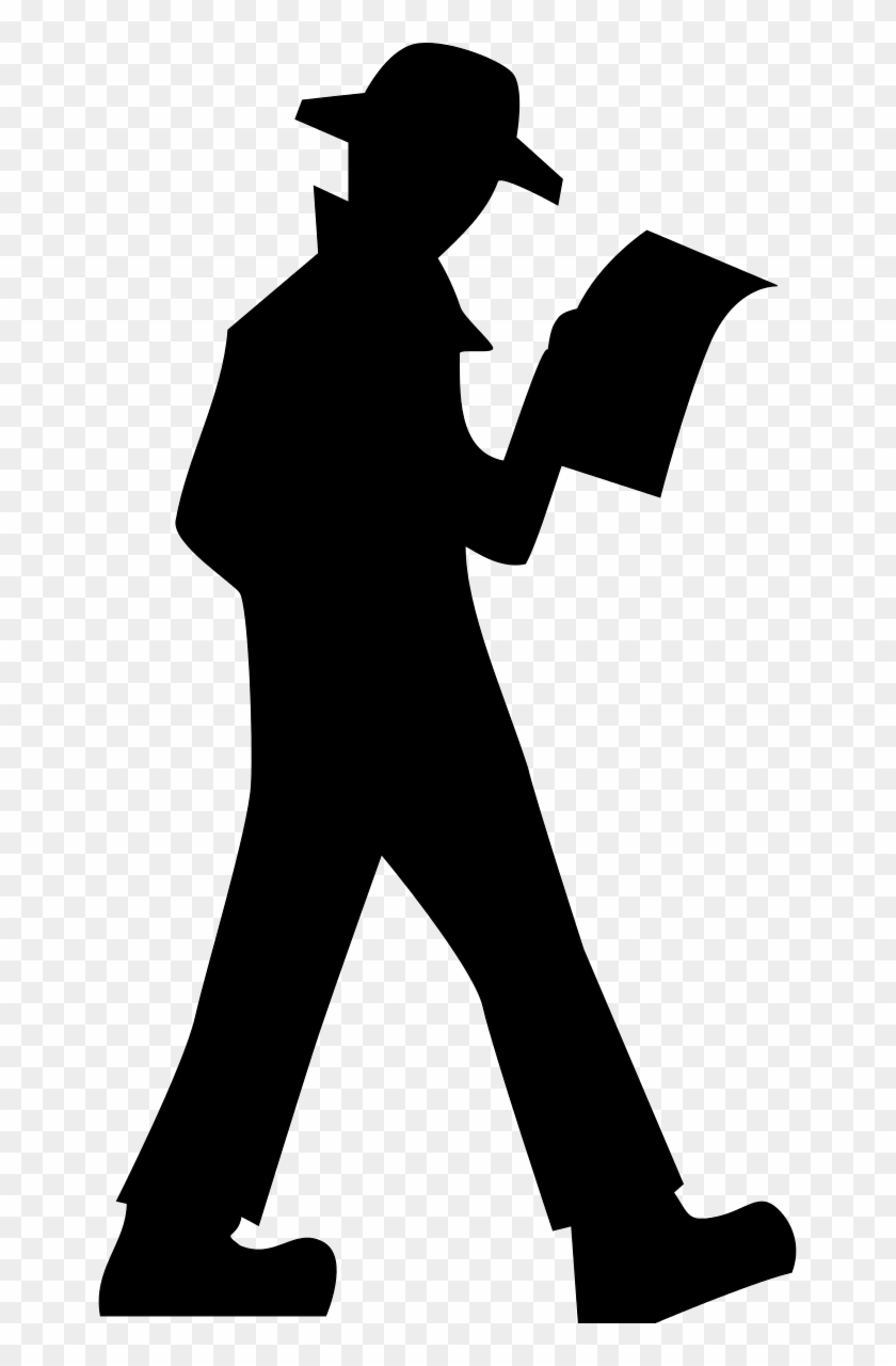 Man Silhouette Clipart By Dear Theophilus - Detective Png #115608