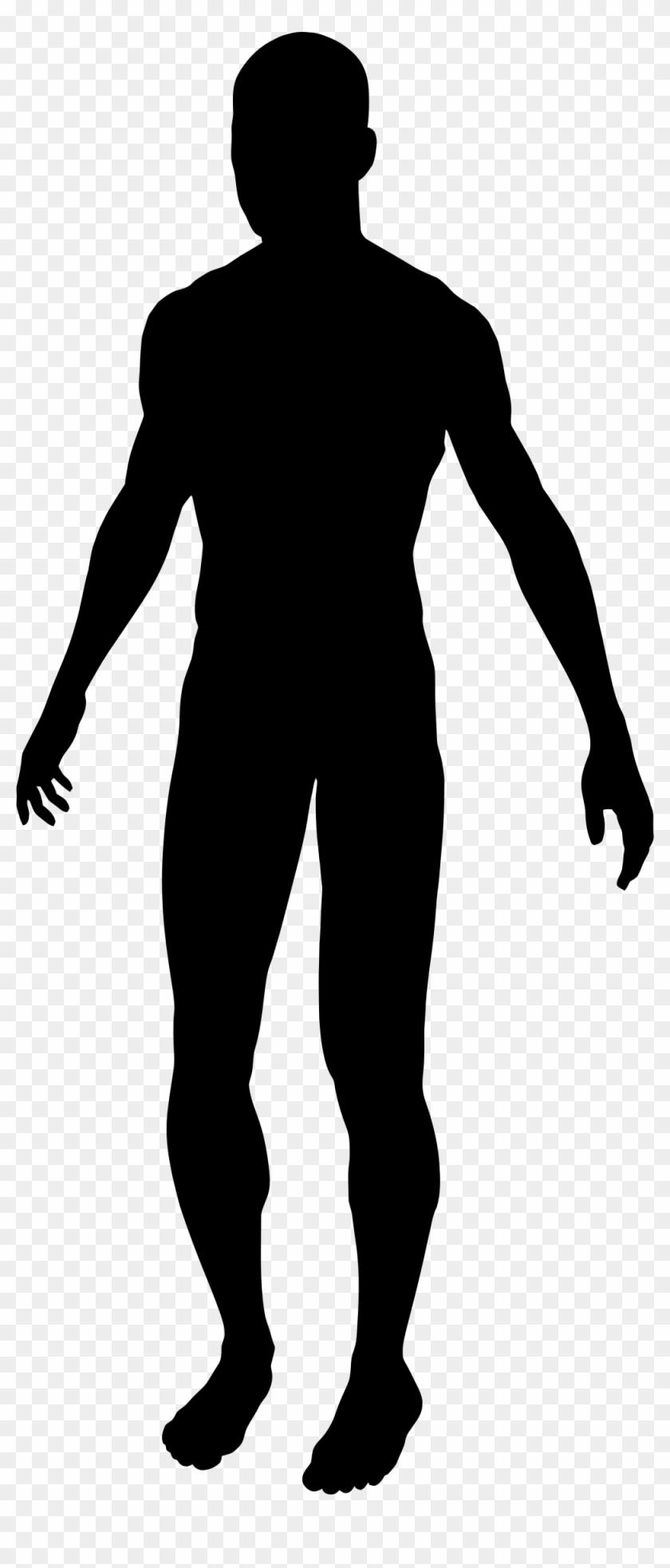 Clipart - Male Silhouette #115619
