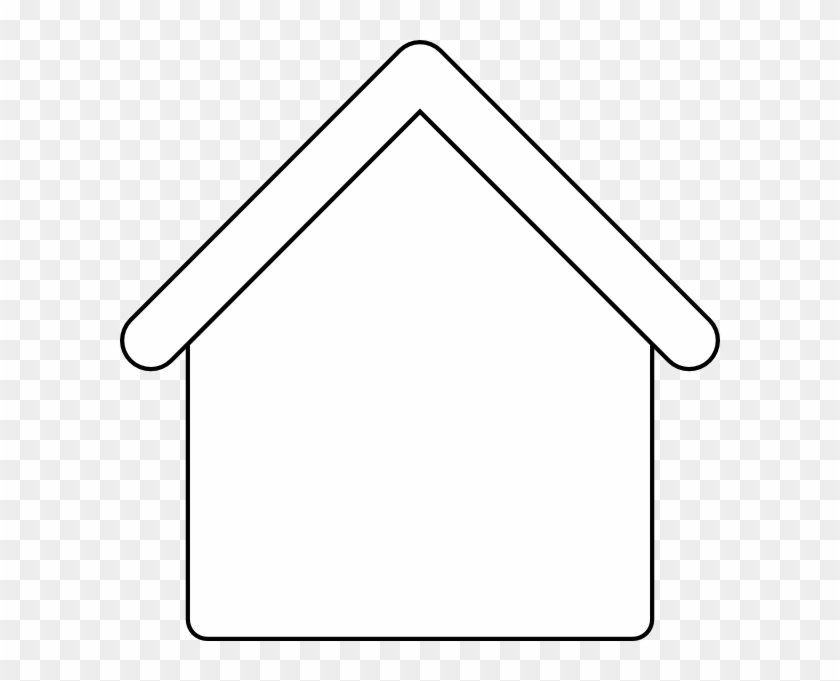 free black and white gingerbread house clipart