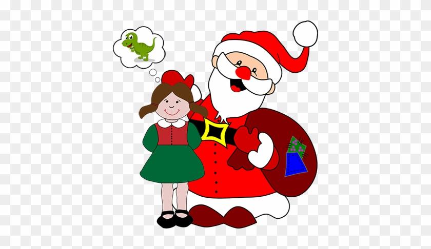 A Christmas Poem For Santa - Santa Clouse Paper Craft #115709