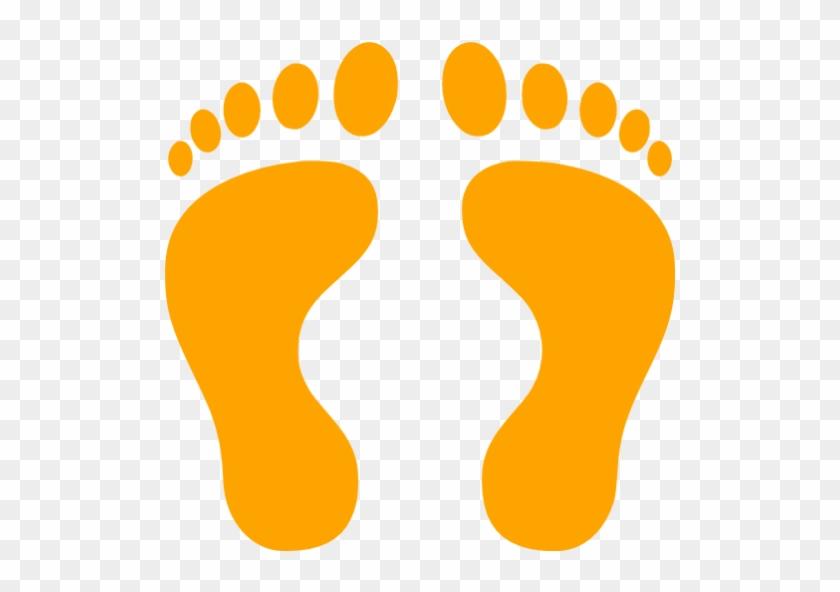 Human Footprint Clipart - Black Footprints #115724