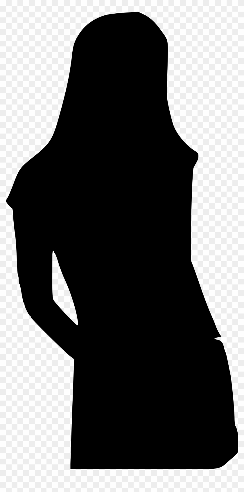 Fashion Girl Clip Art - Girl Silhouette Clipart #115728