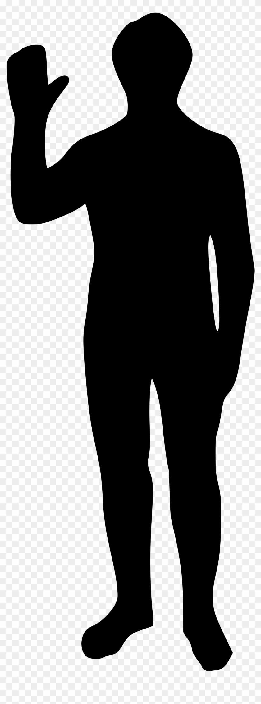 Human Clipart Human Outline - Human Svg #115802