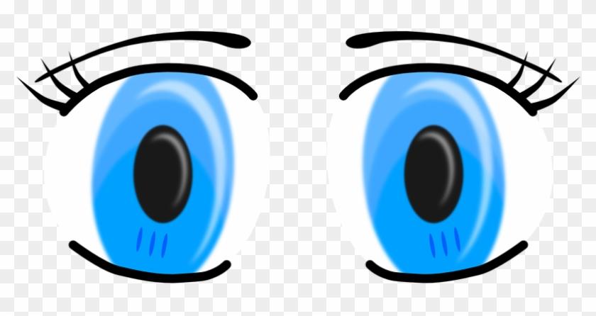 Blue Eyes Clipart Female - Eyes Clip Art #115913