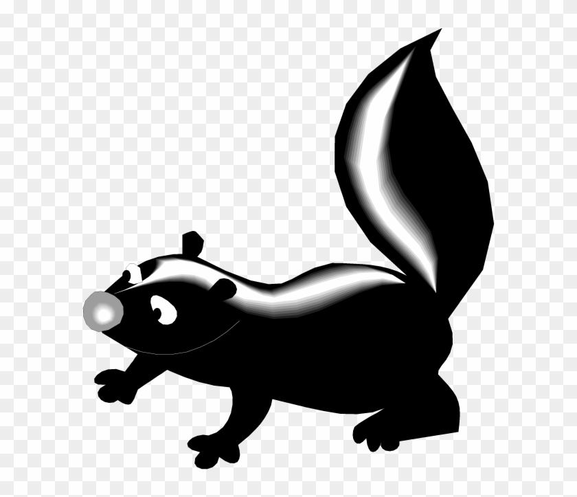 Skunk Clipart Clipart Panda - Skunk Clipart #115931