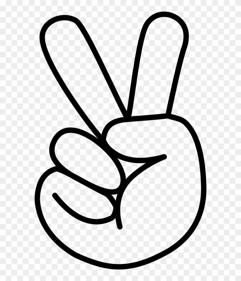 Clipart Peace Sign Hand Free Transparent Png Clipart Images Download Gyan mudra indian hand gesture. clipart peace sign hand free