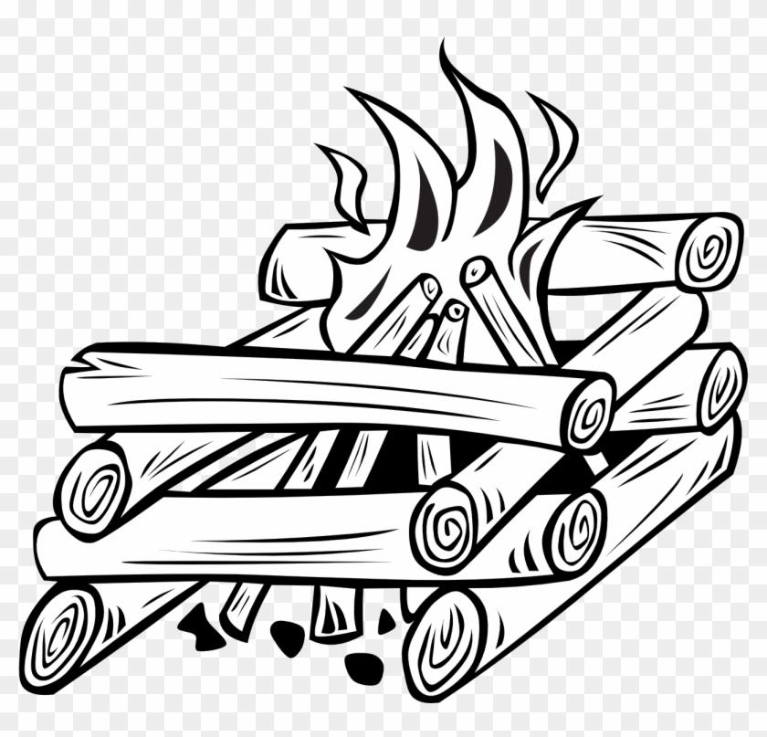 Drawn Camp Fire Clipart - Campfire Clip Art #116142