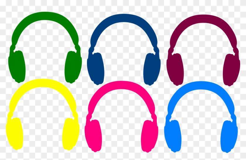 Earphones Clip Art - Headphones #116157