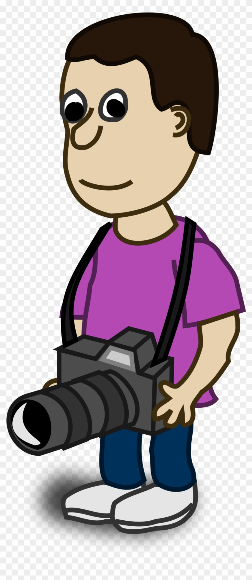 Big Image - Photographer Clipart Png #116206