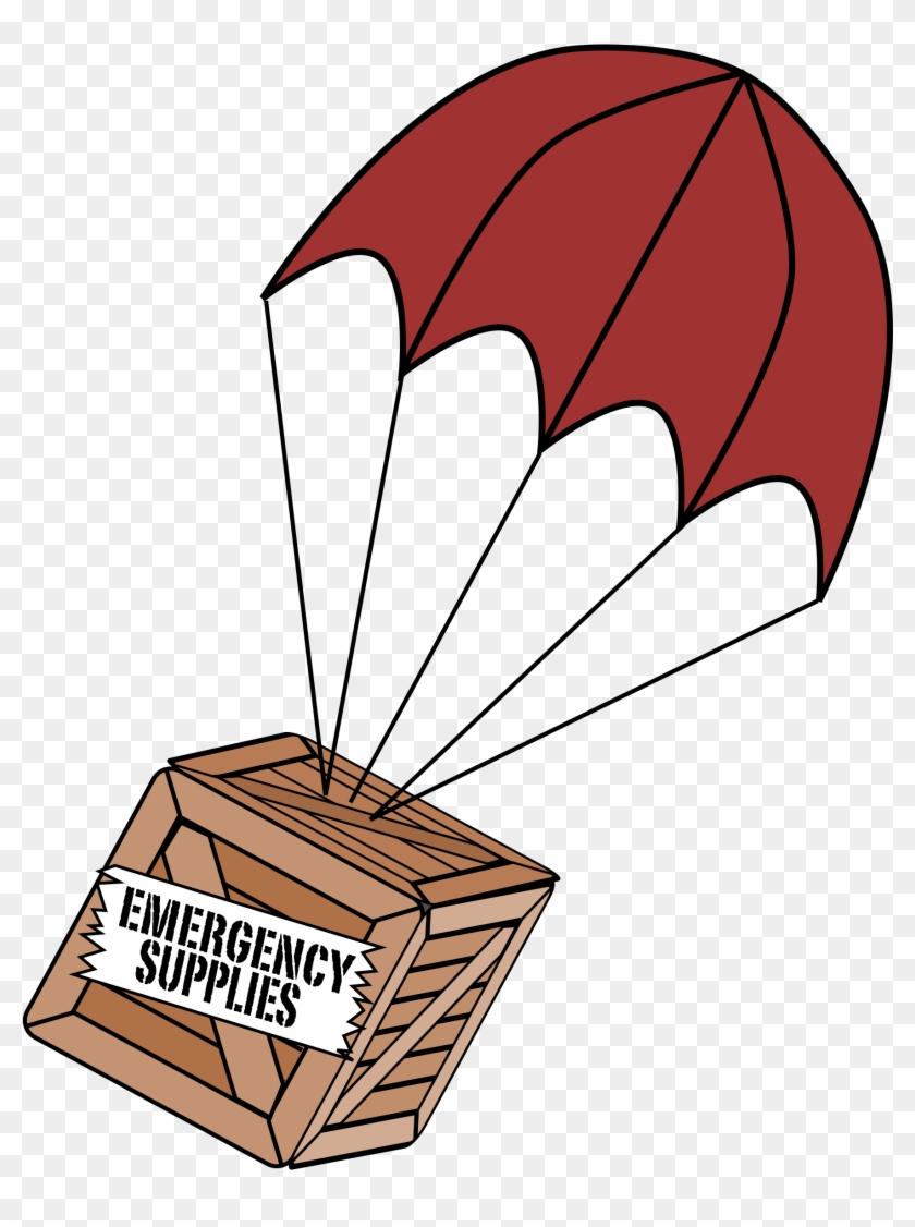 Big Image - Box With Parachute #116211