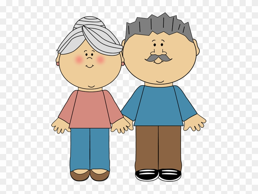 Family Old Couples Grandparents - Grandma And Grandad Clipart #116243