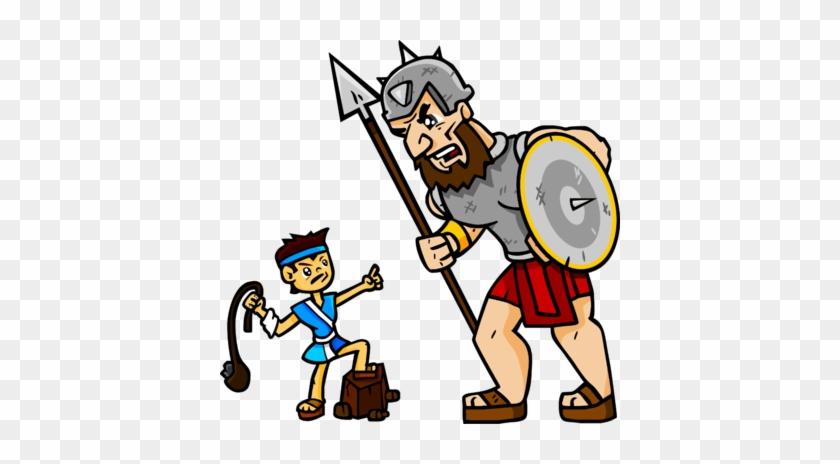 David Goliath Clipart - David And Goliath Clipart #116253