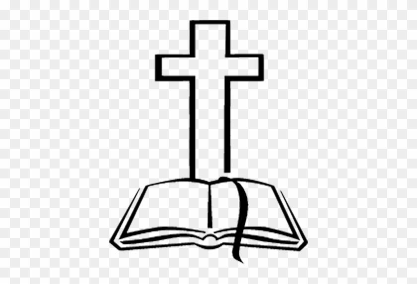 Luxury Bible Cross Clipart Bible And Cross Images Clipart - Cross And Bible Clipart #116332