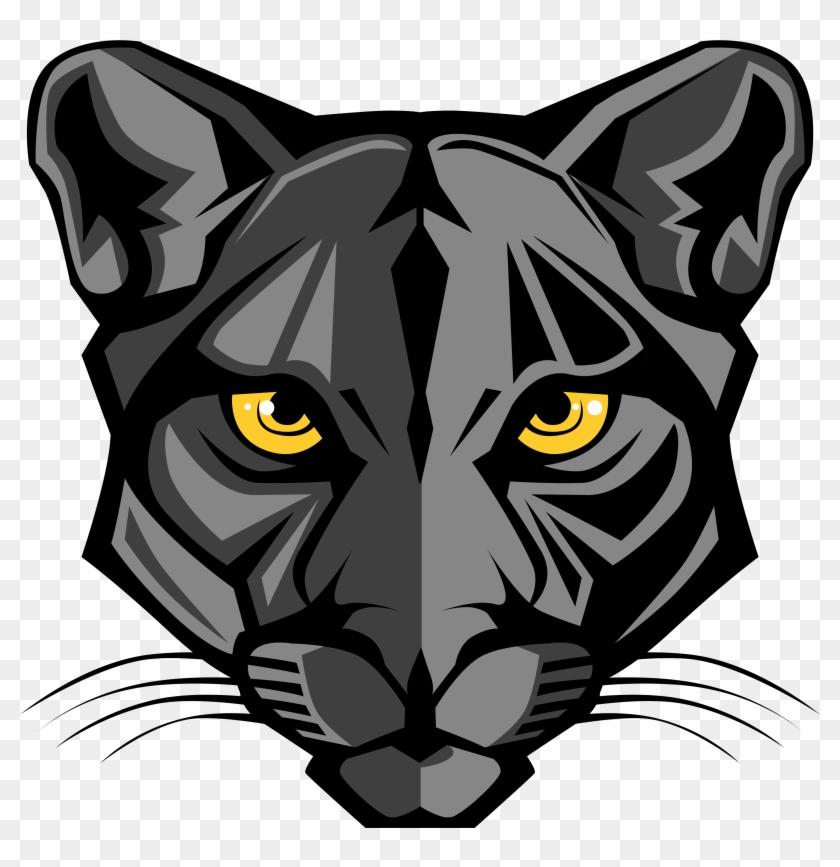 Panther Mascot Logo #116350
