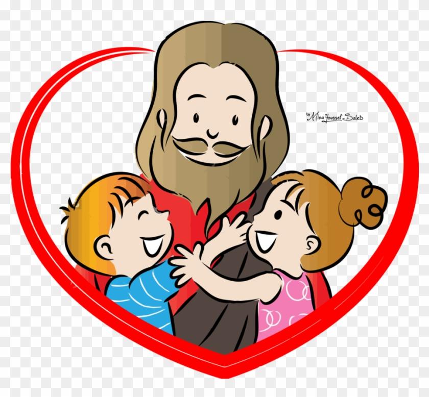 Jesus Vector96 By Minayoussefsaleb - Jesus Love Clipart #116446