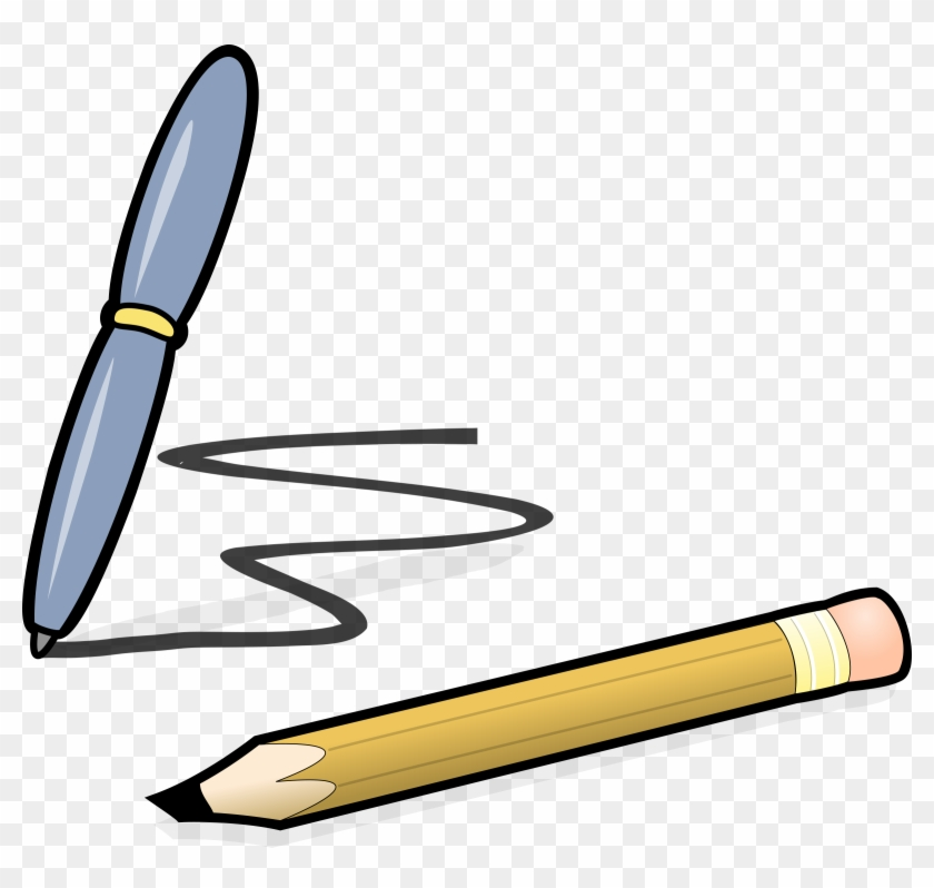 Pen Writing Clipart - Pen And Pencil Clipart #116479