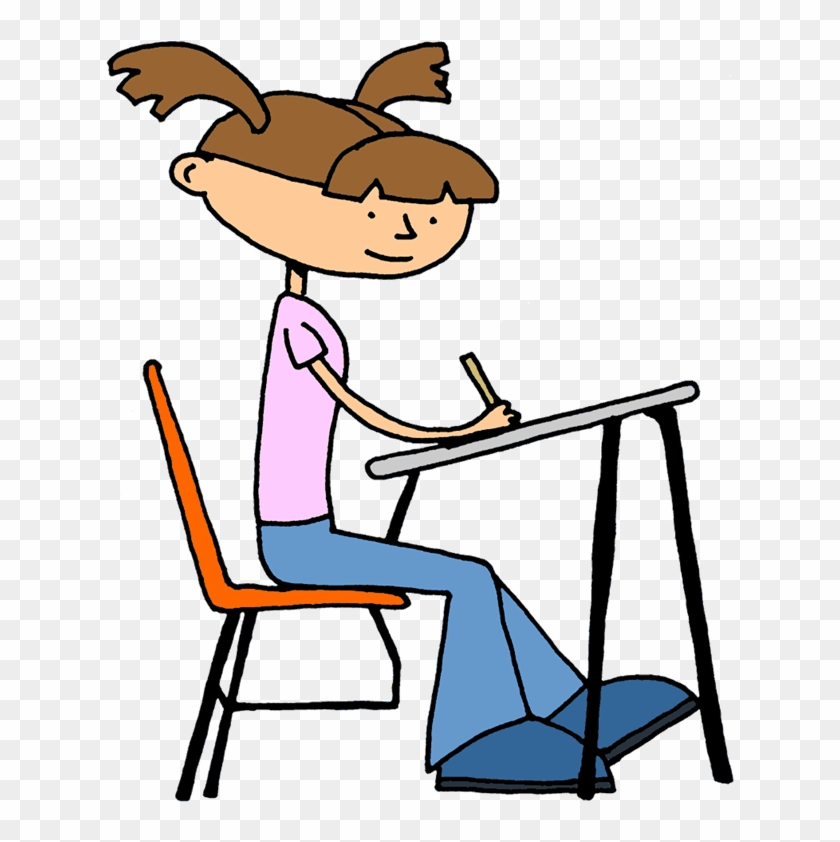 Student Writing Clipart - Pythagorean Theorem Project 8th Grade #116493