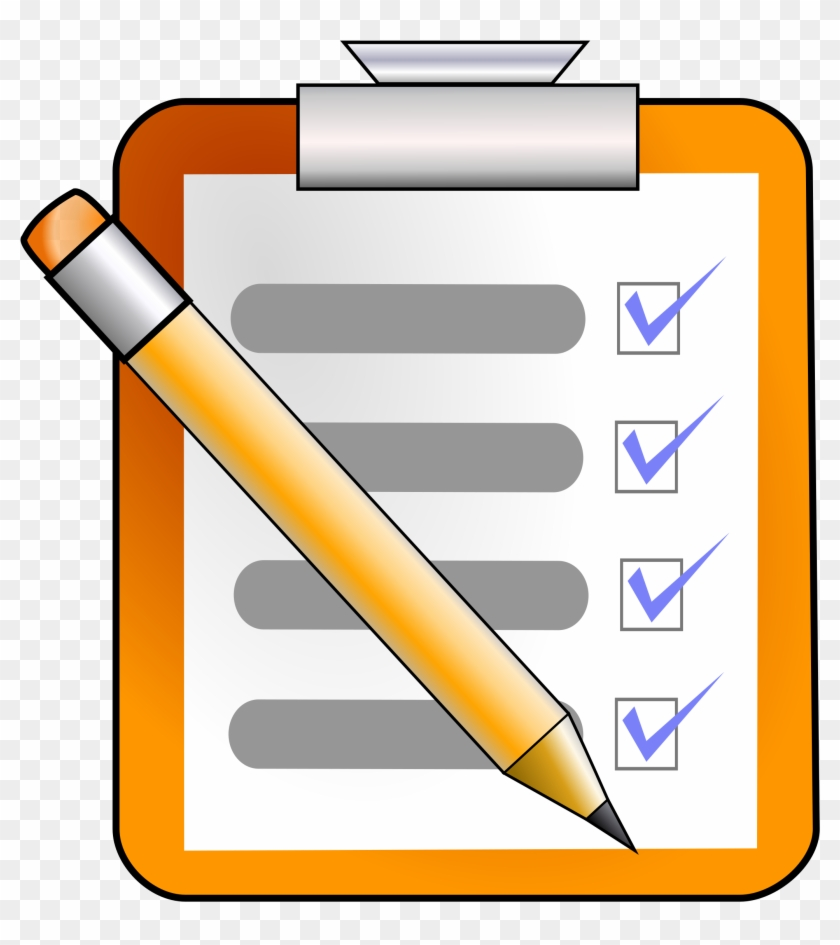 check clipart task checklist clipart png 116495