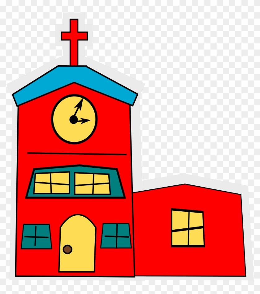 Clipart - Church Cartoon Png #116531