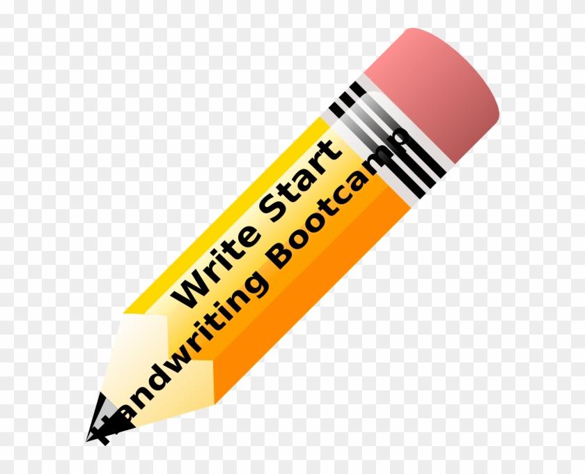 Handwriting Clip Art At Vector Clip Art - Pencil Clipart #116660