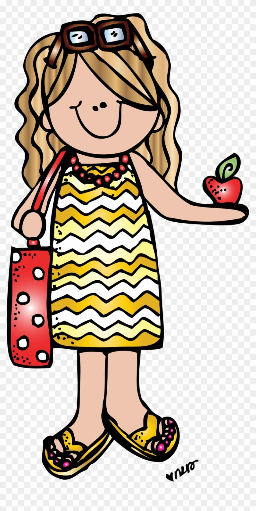 Jen R 2 Short Dress Melonheadz Colored Red - Melonheadz Teacher Clipart #116795