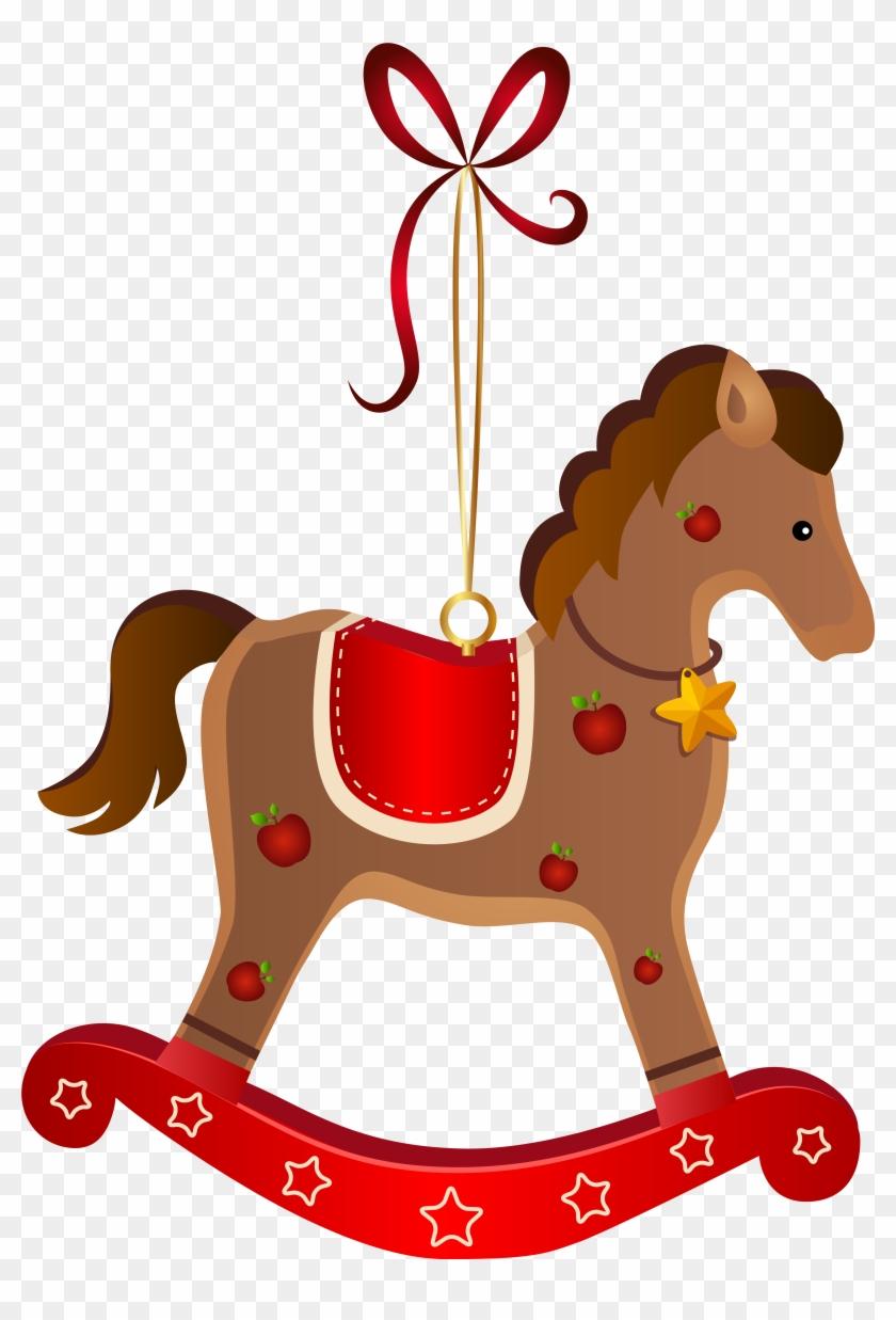 Rocking Horse Christmas Ornament Transparent - Rocking Horse Christmas Ornament #116821