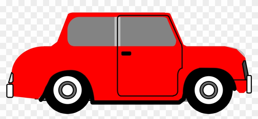 Clipart Voiture - Man In A Car Sees A Door #116938