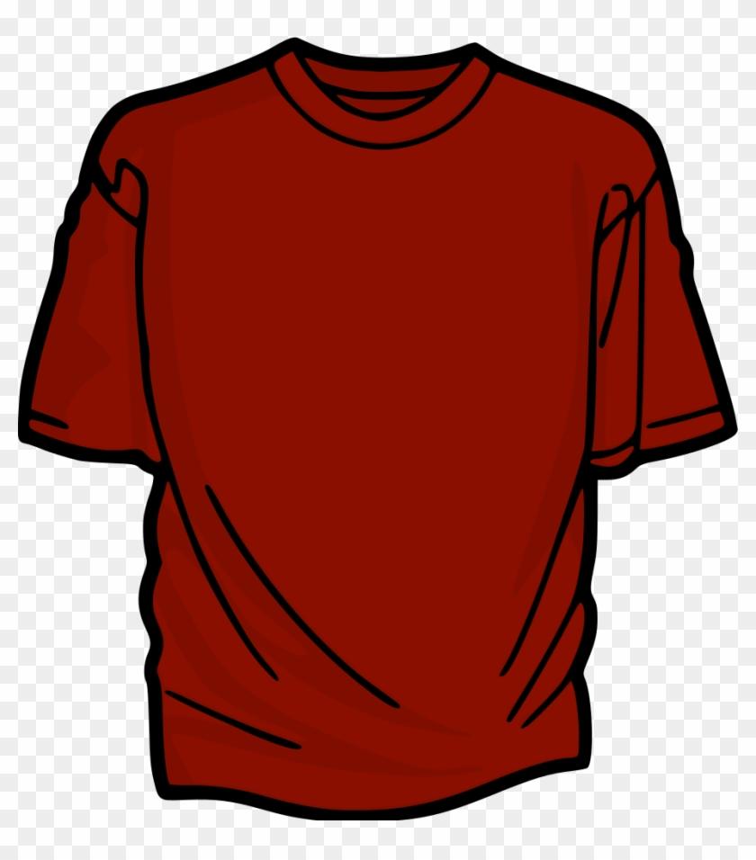 Similar Clip Art - Red Shirt Clip Art #116956