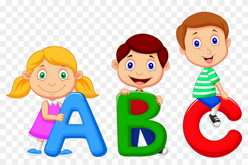 Alphabet Song Cartoon Clip Art - Baby's Babble! Baby's First Sight Words. - Baby #116988