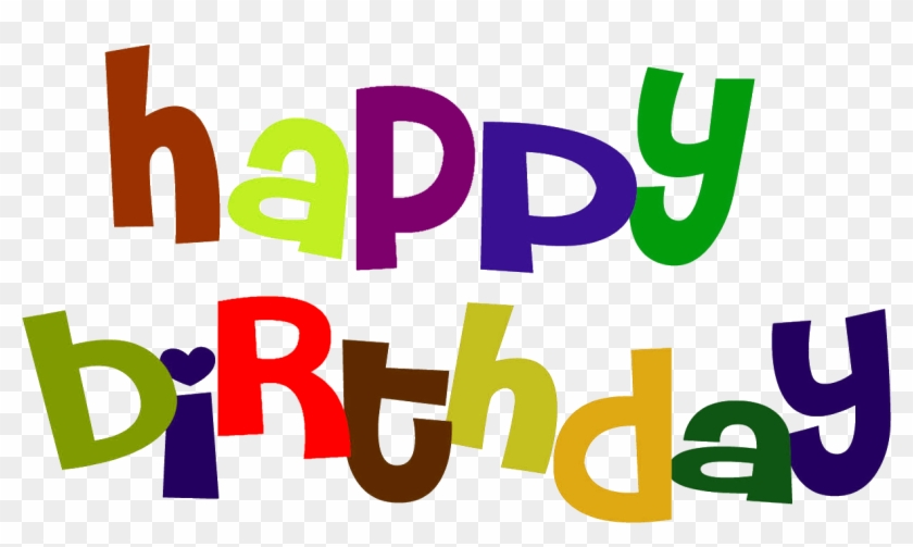 Colorful Happy Birthday Sign Clip Art - Happy Birthday Clip Art #117050