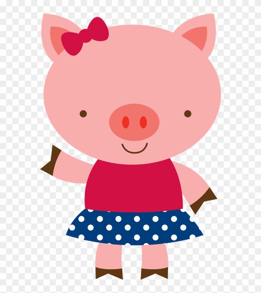 3 Little Pigs & A Sister - Desenho 3 Porquinhos Png #117054