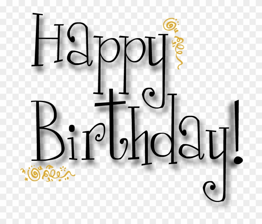photograph regarding Birthday Clipart Free Printable called Its Woman Blues Birthday These days - No cost Printable Pleased