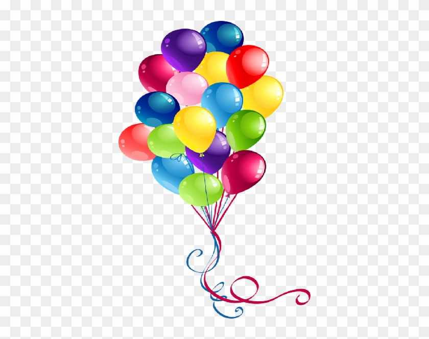 Party Balloons Cartoon Clip Art Images Are Free To - Birthday Balloon #117056