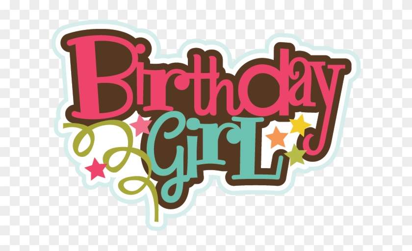 Birthday Girl Clipart Free - Happy Birthday Girl Png #117062