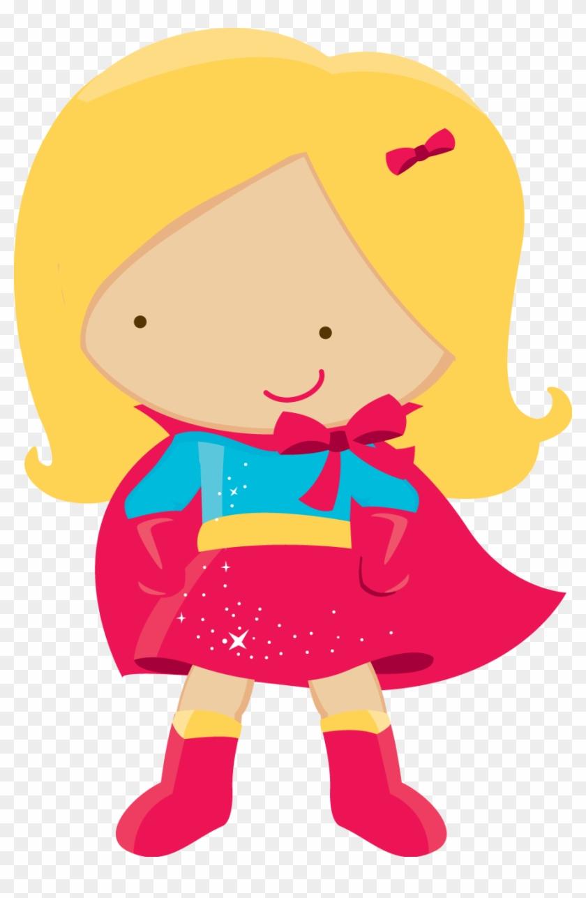 Superhero Girl Clipart Png #117098