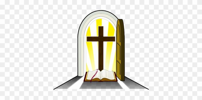 Image Golden Cross Doorway Christartcom - Church Ushers And Greeters #117211