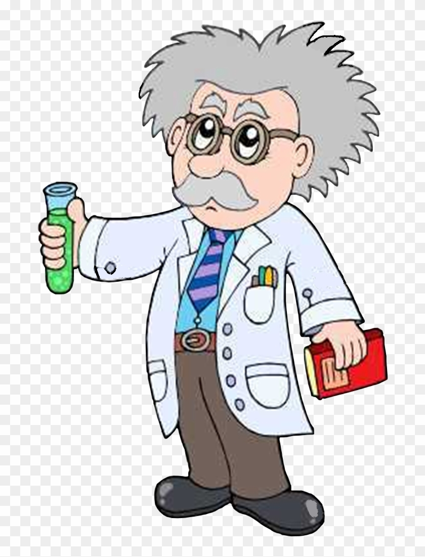 cartoon scientist clipart clip vector transparent workers