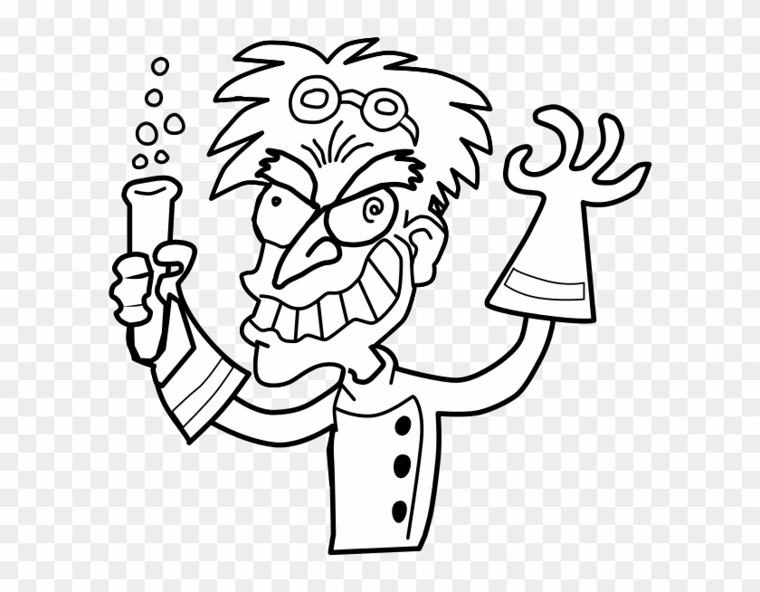 Gifted In France - Mad Science Coloring Page #117291