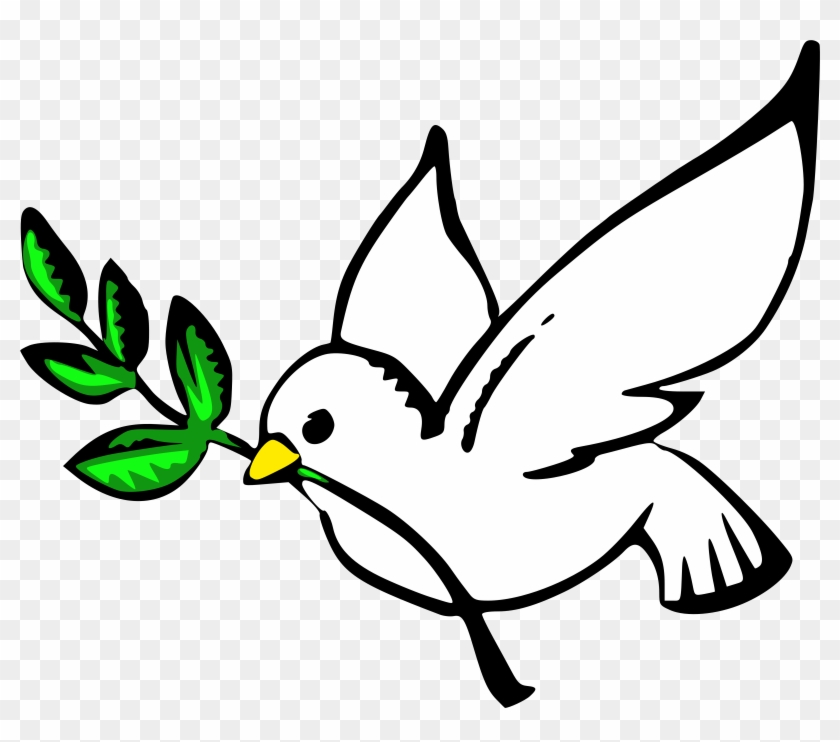 """a Culture Of Peace Will Be Achieved When Citizens - Dove Clipart #117320"