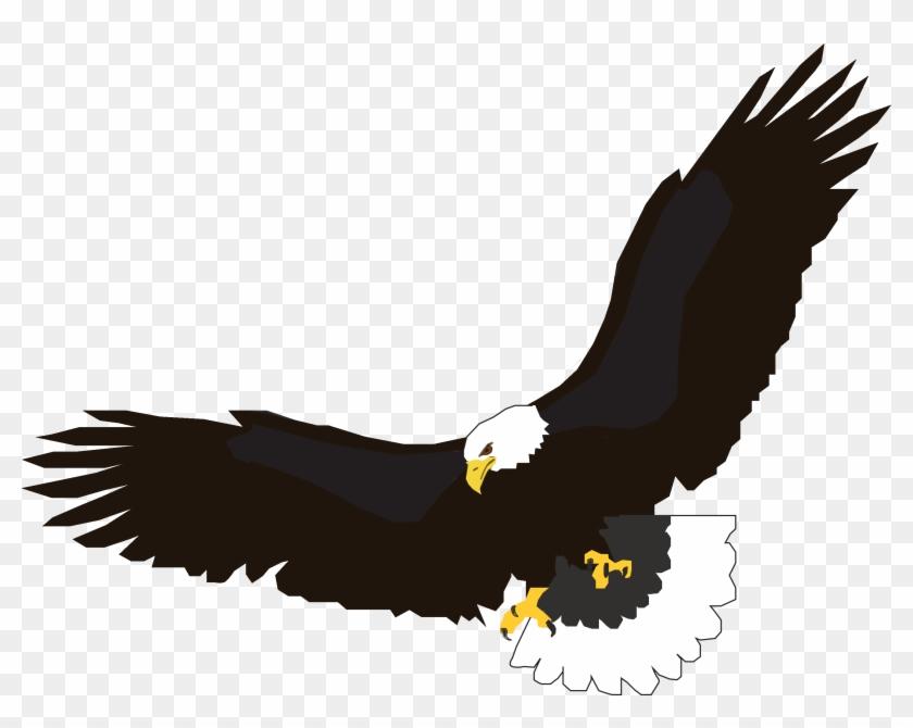Eagle Birthday Cliparts - Flying Eagle Clip Art #117361