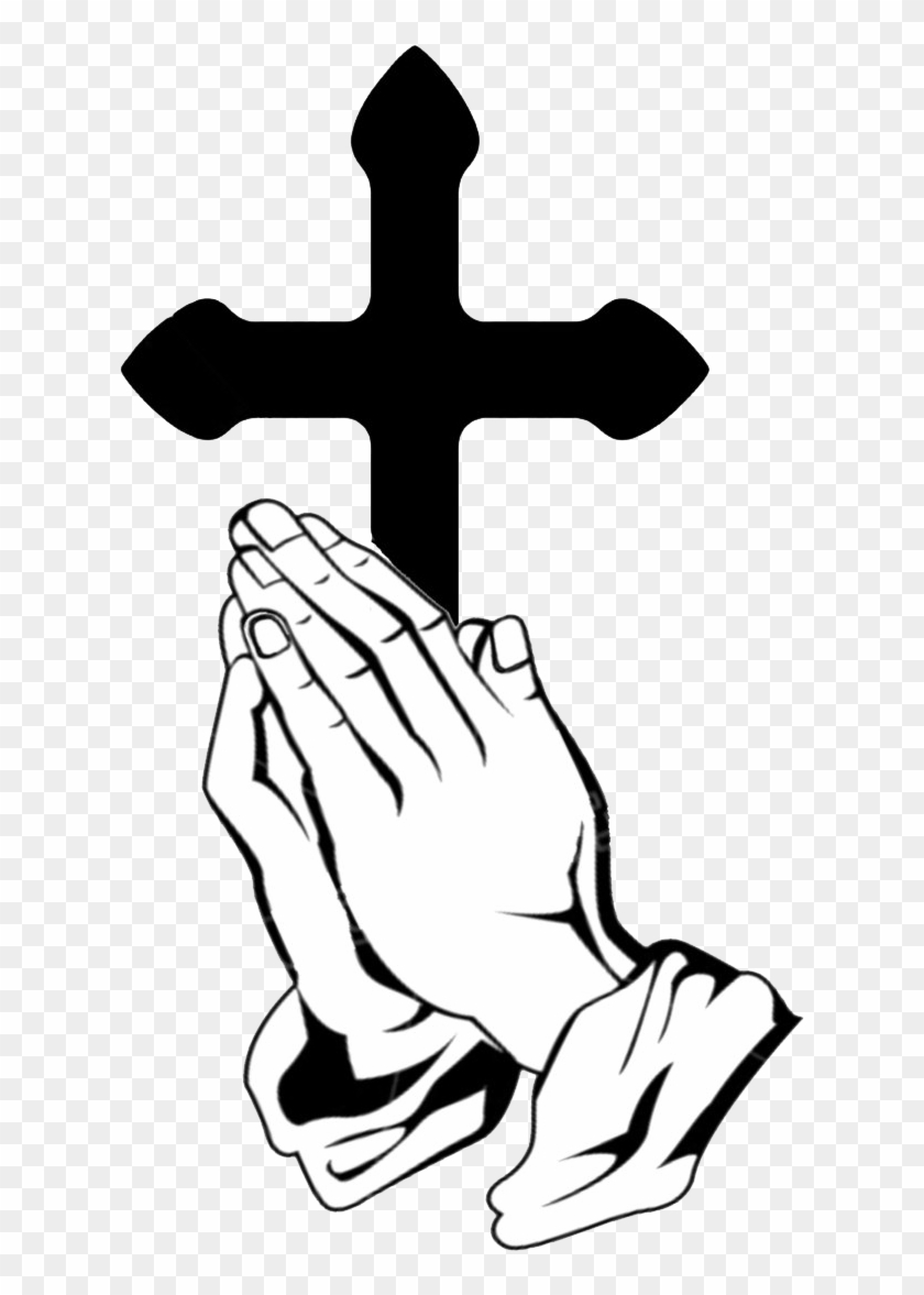 Prayer Can Truly Change Your Life - Praying Hands Cross Transparent #117425