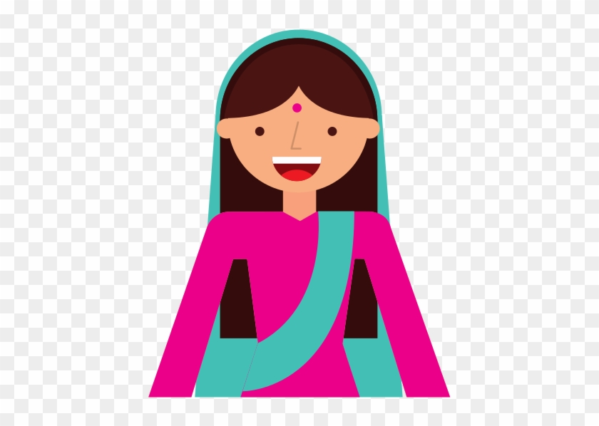 Islam Woman Character Isolated Icon - Vector Graphics #117472