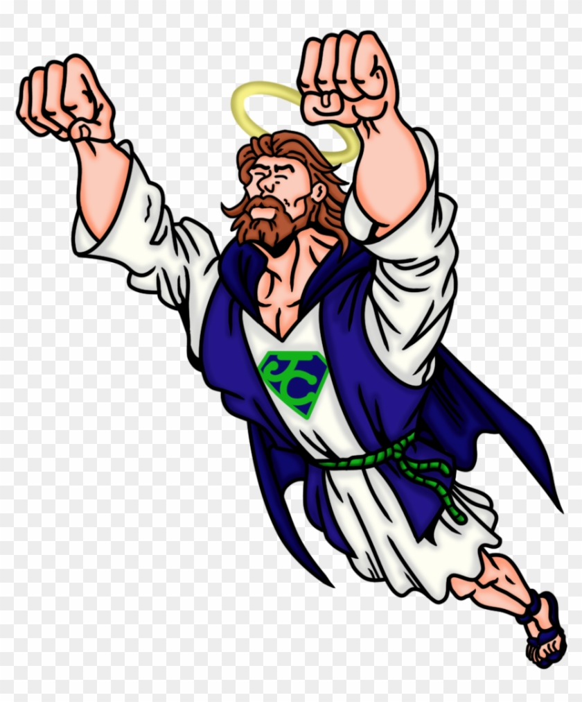 Hero Jesus Christ By Rosvaleera - Jesus As A Hero #117667