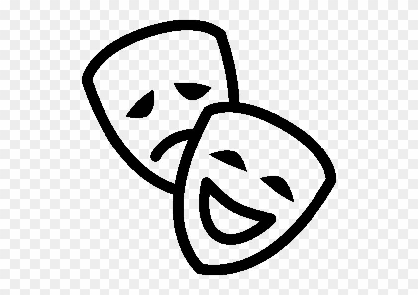 Exp - Theater - Mask Icon #117714