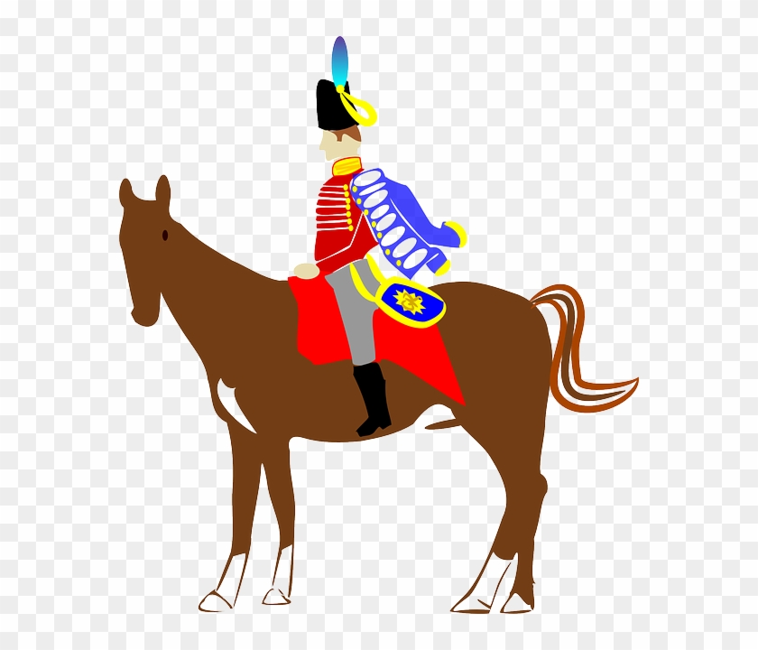 Riding, Horse, Rider, Barrie, Cavalry, Drama - British Soldier On Horse #117741
